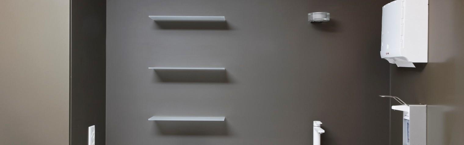 Centrul medical Imaderm, ce si-a deschis portile in anul 2011 in centru orasului elvetian Geneva, reprezinta un centru de wellness ce ofera o atmosfera calda si primitoare intr-o ambianta eleganta si confortabila intregii clientele exclusiviste ce-i calca pragul.  Materialul mineral HI-MACS® poate fi gasit in intreg spatiul amenajat, intr-o gama cromatica calda de culori neutre.  Amenajarea interioara a fost realizata de catre[…] Mai mult…