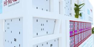 La targul BAU 2013 HI-MACS® debuteaza ca material pentru fatade! HI-MACS®, in parteneriat cu distribuitorul german oficial Kloepfer Surfaces, va face o prezentare a standului conceput de catre firma de arhitectura 3deluxe. Designul nu numai ca va impresiona prin capacitatile variate ale HI-MACS®, dar va inspira si publicului ca este urmatoarea generatie de materiale pentru fatade.  Studioul de arhitectura 3deluxe (responsabil[…] Mai mult…
