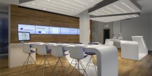 Arhitectii de la cooperativa de design DGJ+NAU (NAU Architecture and Drexler Guinand Jauslin Architekten) au finalizat de curand loungeul VZ Finanzportal din Zurich, un nou spatiu pentru furnizorul de servicii financiare si investitii online VZ VermögensZentrum. Cu accentul pe interactivitate, loungeul VZ Finanzportal este un spatiu deschis, in care clientii sunt liberi sa exploreze si sa primeasca informatii, training sau[…] Mai mult…