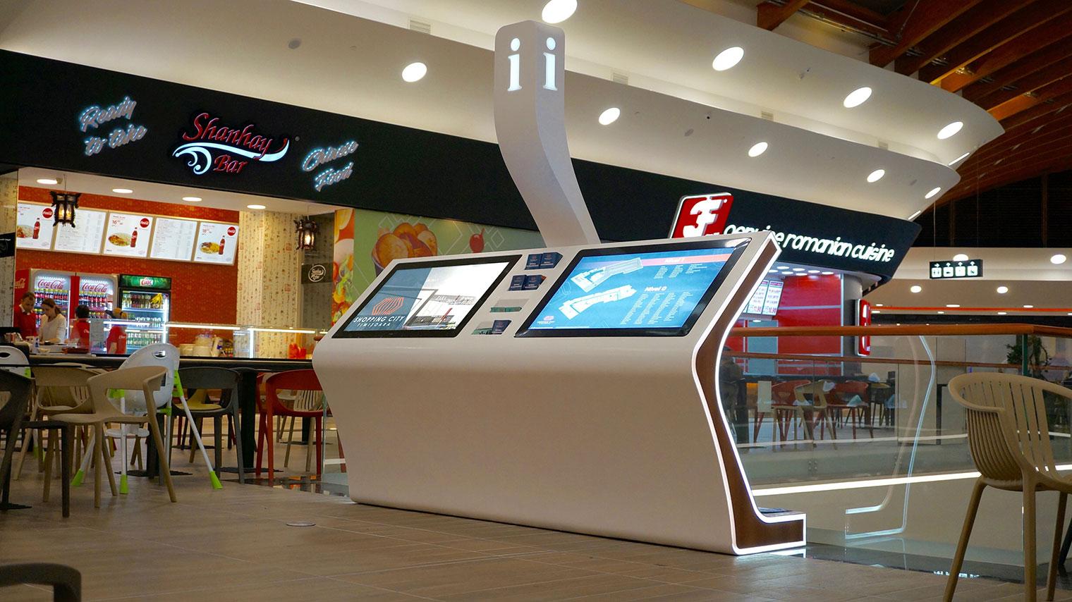 Mobilier Din Himacs Pentru Mall Shopping City Timi Oara