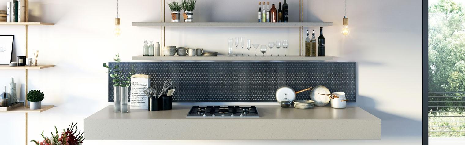 Suprafețele de beton devin tot mai importante în arhitectura modernă, betonul ca material oferă caracter, textură și o caldă estetică într-o varietate de nuanțe gri. New Concrete Collection lansat de LG Hausys este o linie de produse ce s-a născut din dorința de a ne întoarce la lucrurile esențiale. Linia de produse îmbină textura brută a betonului cu finisajul neted[…] Mai mult…